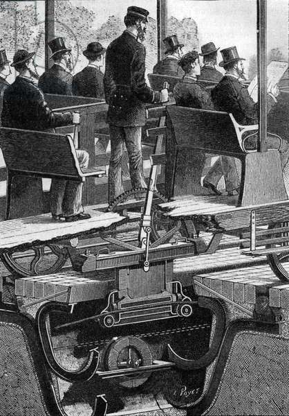 Cable tram of Chicago, 1883