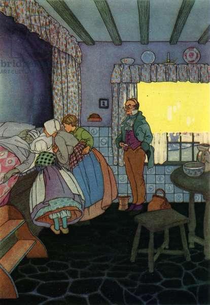 Dutch family in domestic scene