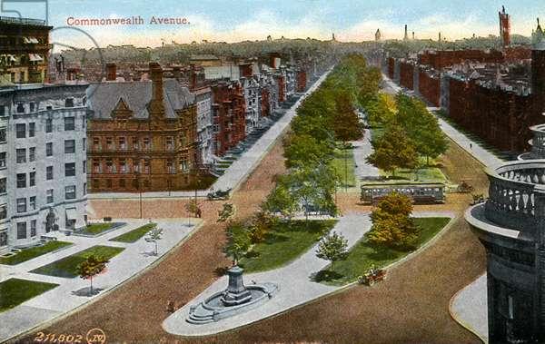Boston: Commonwealth Avenue