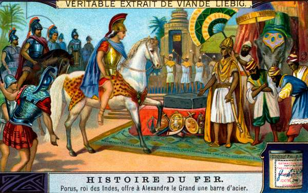 History of Iron: King Porus and Alexander the Great