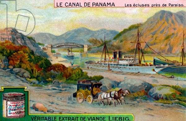 The Panama Canal: Locks near Paraiso