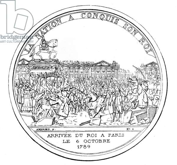 Medal commemorating the return of the King