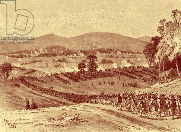 Battle of Cross Keys - American Civil War