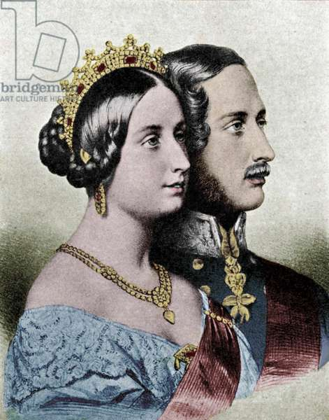 Queen Victoria and Prince