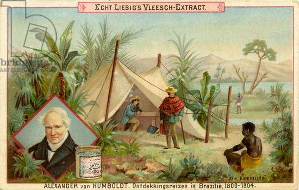 Alexander von Humboldt 's  discovery expedition