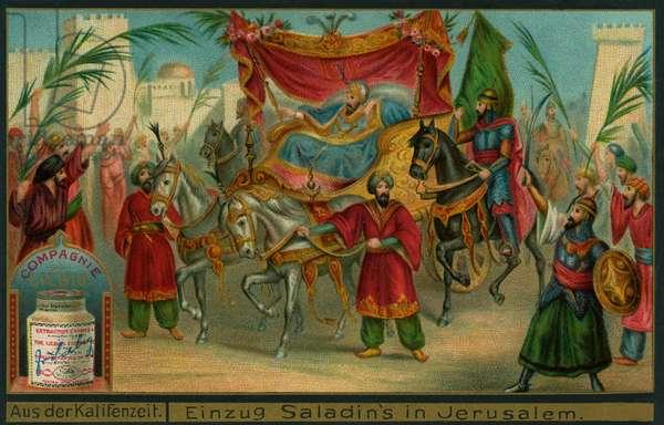 Saladin's arrival in Jerusalem