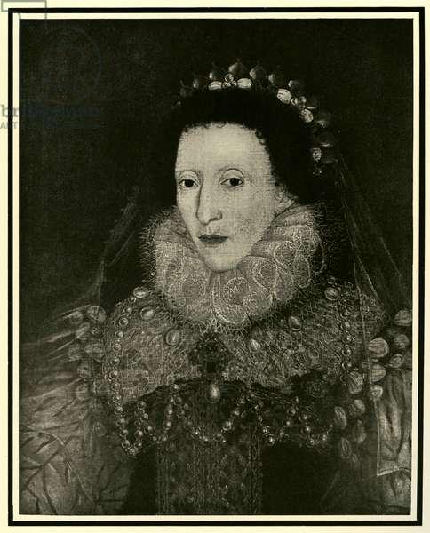 Queen Elizabeth I, 1587