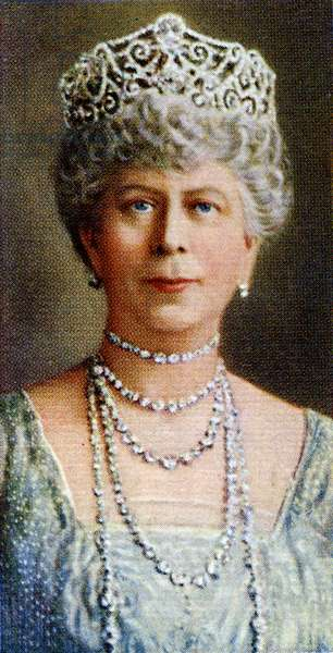 Queen Mary of Teck  portrait