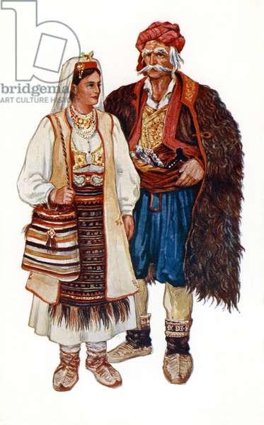 Croatian    traditional costume