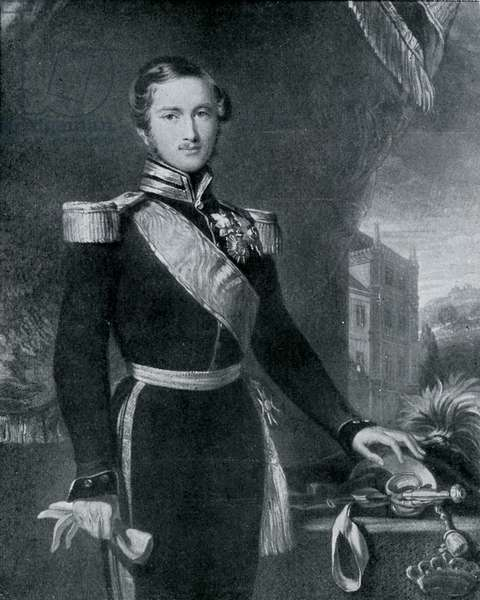 Prince Albert at the time of his marriage