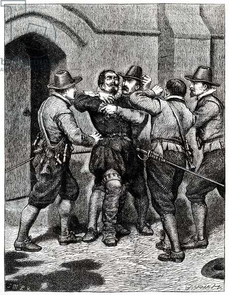 Siezure of Guy Fawkes