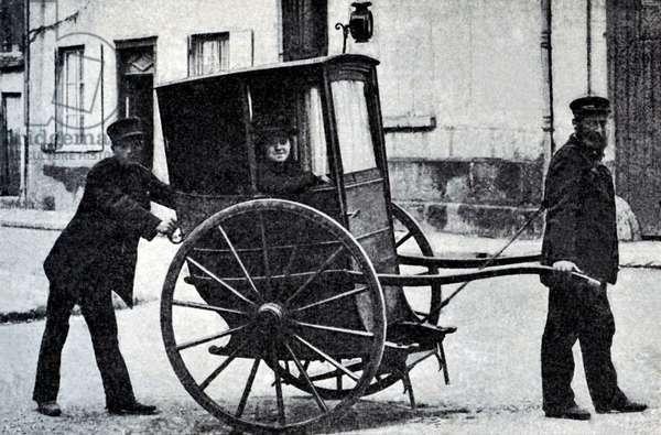 Last vinaigrette (two wheeled carriage) in Beauvais