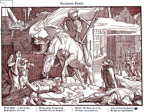 Totentanz 1848: Death as a republican hero