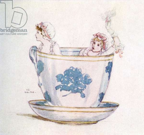 'A calm in a  tea-cup' by Kate Greenaway