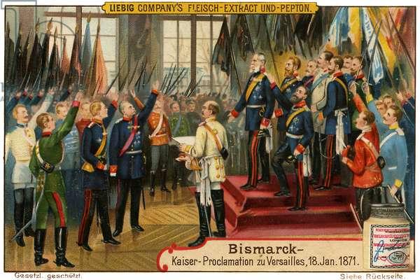 Bismarck in Versailles, 1871