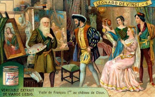 Life of Leonardo Da Vinci: Visit by Francis I of France