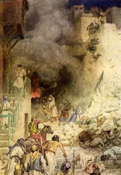 The Destruction of Jericho - Bible