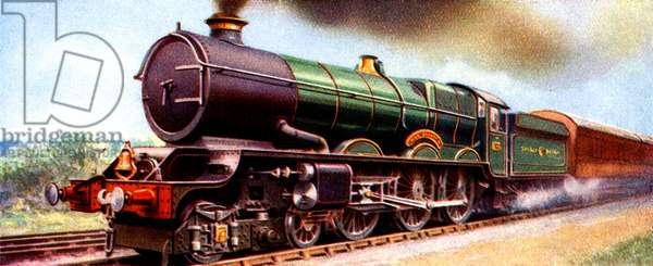 Great Western Railway train - King George V