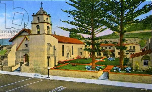 California: Mission San Buenaventura, Ventura