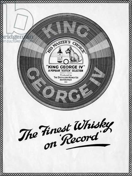 King George IV whiskey - advertisement