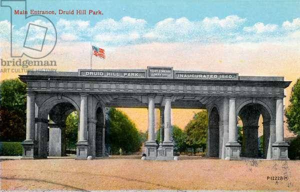 Baltimore: Druid Hill Park
