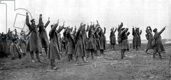 World War 1: Surrender of Russian soldiers