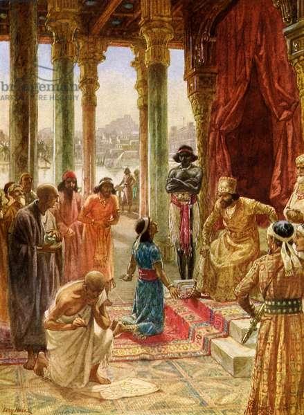 Daniel interprets dream of Nebuchadnezzar - Bible