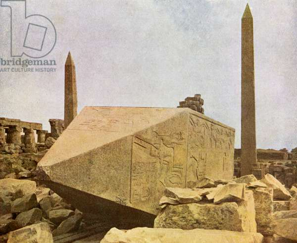 Obelisks at Karnak, Egypt.