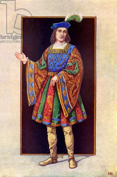 English nobleman 16th century