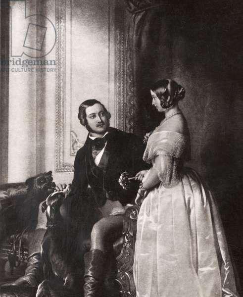 Queen Victoria & Prince
