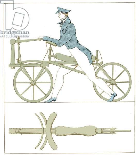 First dandy-horse