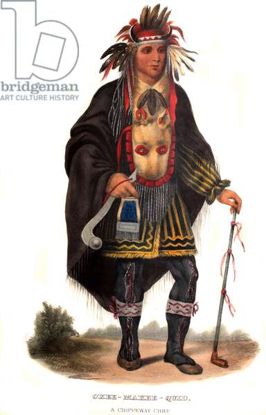 Okeemakeequid, a Chippeway chief