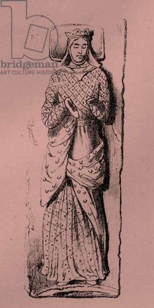 Queen Eleanor of Aquitaine, wife of Henry II