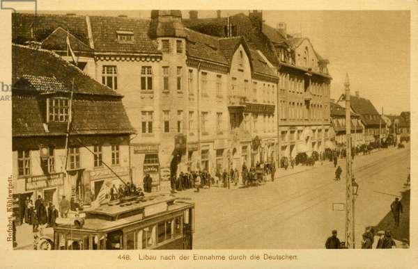 Libau under WWI German Occupation