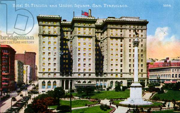 San Francisco: Hotel St. Francis and Union Square