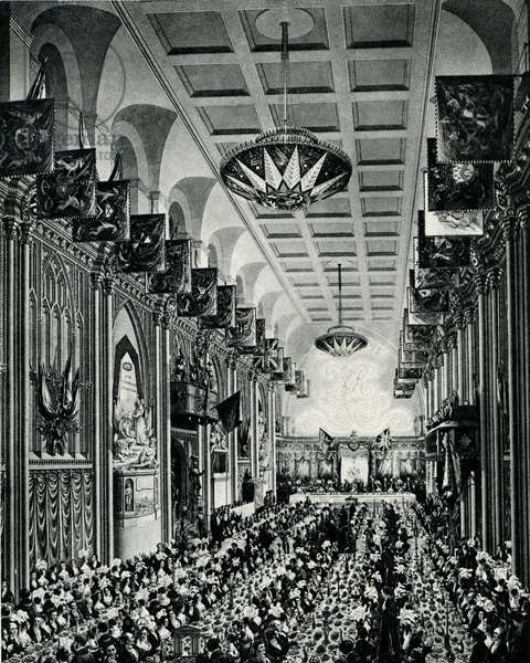 Royal Banquet given to Her Majesty Queen Victoria