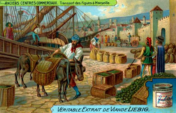 Ancient Commercial Centres: Marseilles