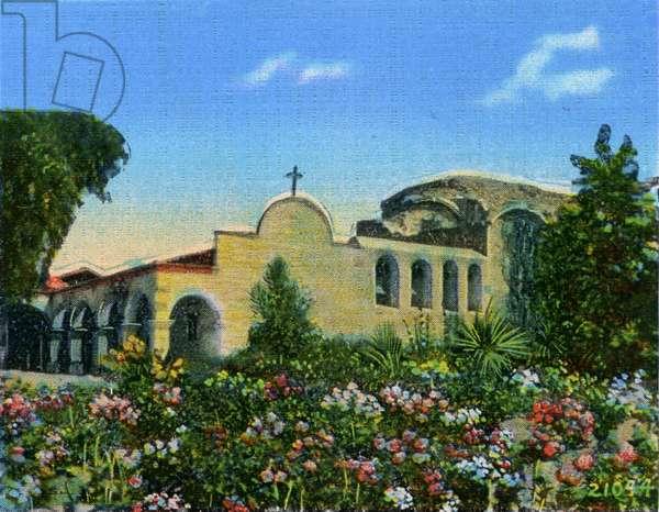 California: Mission San Juan Capistrano and Garden