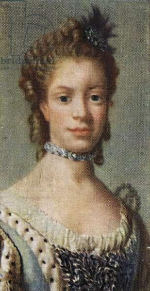Charlotte of Mecklenburg - Strelitz portrait