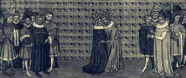Meeting between Edward III and Philip of France, 1331