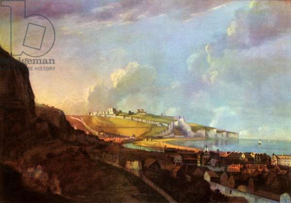 View of Dover, 1747.