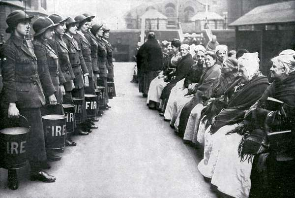 Women  Firefighters during World War 1
