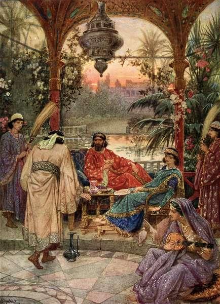 Nehemiah  petitions Artaxerxes - Bible