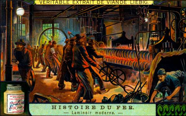 History of Iron: Metal rolling in the ealry 20th century
