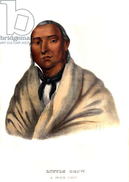 Little Crow, a Sioux Chief