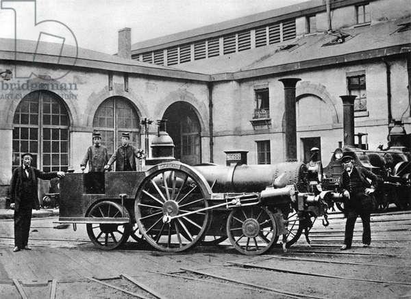 Locomotive inspection of 'la Petite', 1855