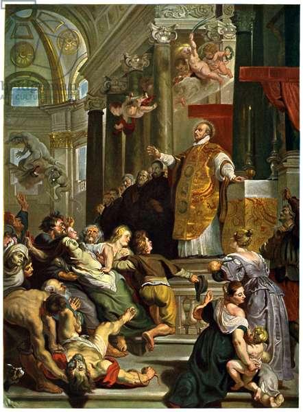 Glory of St Ignatius of Loyola (1616) by Rubens