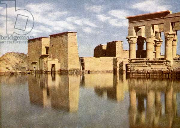 'Ruins of Temple of Philae, Egypt.