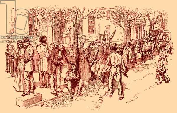 War wounded in Richmond, Virginia - American Civil War