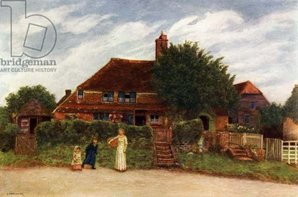 'Cottages'  by Kate Greenaway.